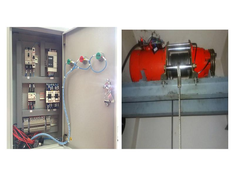 ptssystem : ระบบ PLC - ระบบ Programmable Logic Controllers สำหรับควบคุม ลิฟท์ขนของ